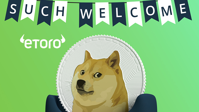 eToro lists Dogecoin – DOGE with new all-time high – Block-builders.net